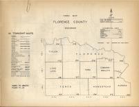 Index Map, Florence County 1957